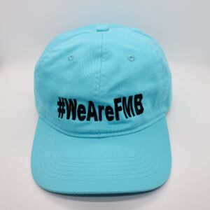 #WeAreFMB baseball caps-shop-fort myers beach community foundation