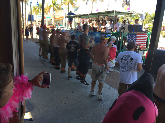 people watching parade-fmb community foundation