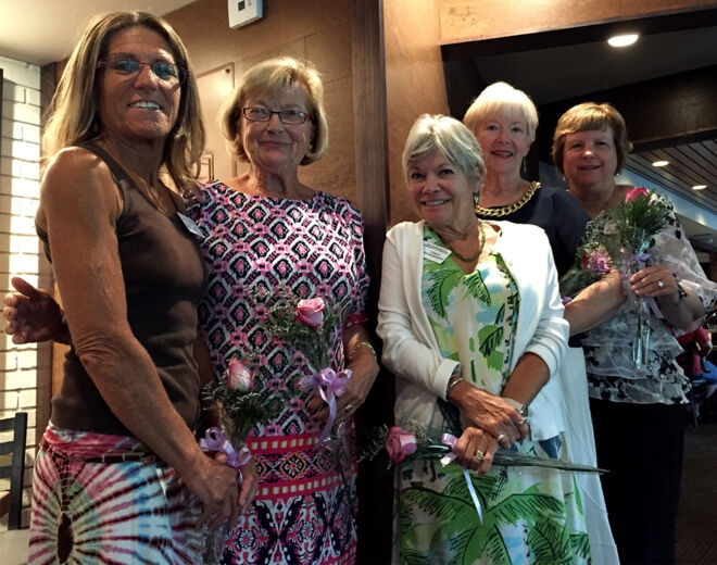 south beach grille luncheon with members of fmb community foundation