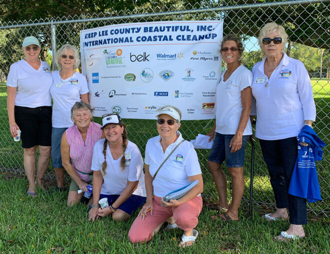 keep lee county beautiful - participating members of fmb community foundation