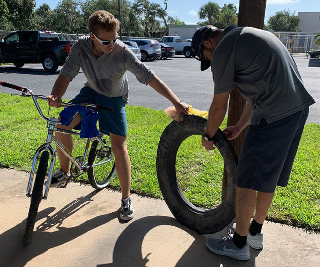 community helping each other