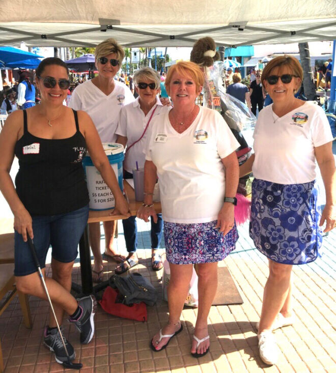 WeAreFMB-Ladies-in-Times-Square-Fort-Myers-beach-community-foundation