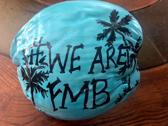 wearefmb-painted-on-a-coconut-fmb-community-foundation