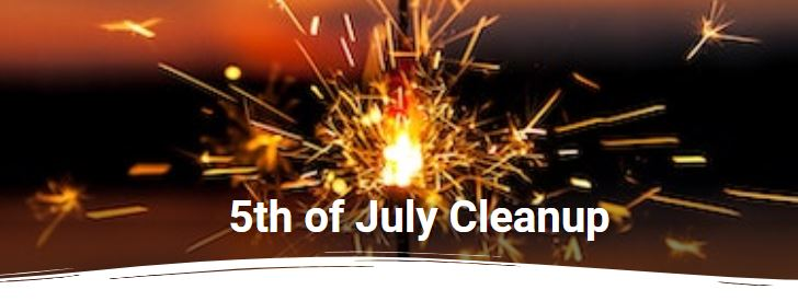 5th of July Beach Cleanup-fort myers beach