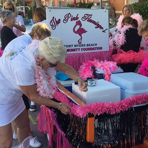 Membership-Pink-Flamingo-Ladies-Float